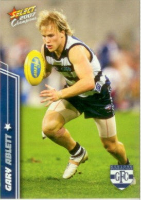 2007 Select AFL Champions Trading Card Base Set of 195 cards