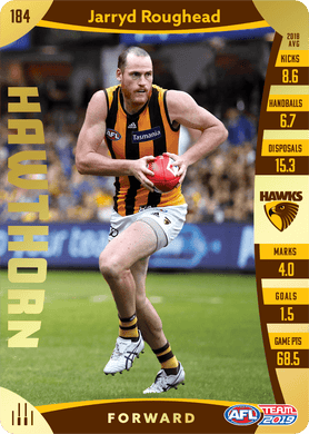Jarryd Roughead, Gold, 2019 Teamcoach AFL