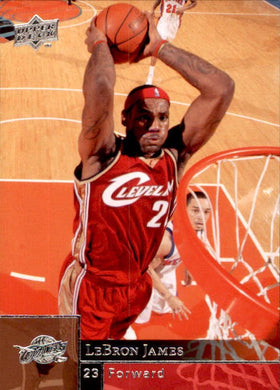 Lebron James, 2009-10 Upper Deck Basketball NBA