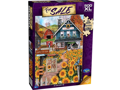 FOR SALE, The Sunflower Inn, 500XL Piece Jigsaw Puzzle