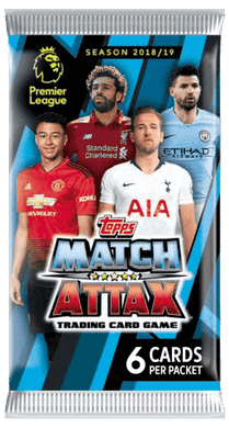 2018-19 Topps Match Attax EPL Pack