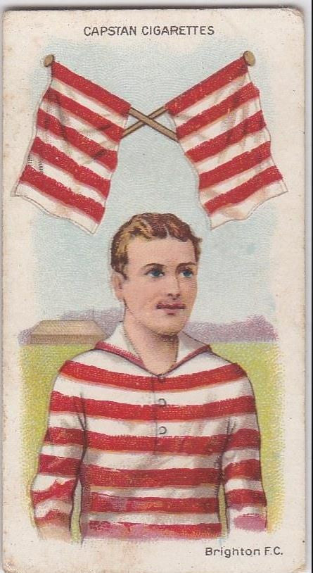 1913 Capstan Cigarettes, Football Colours and Flags, Brighton F.C.