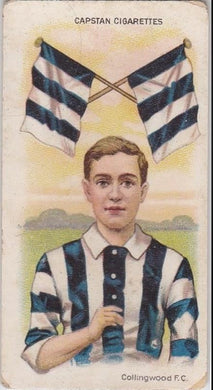 1913 Capstan Cigarettes, Football Colours and Flags, Collingwood F.C.