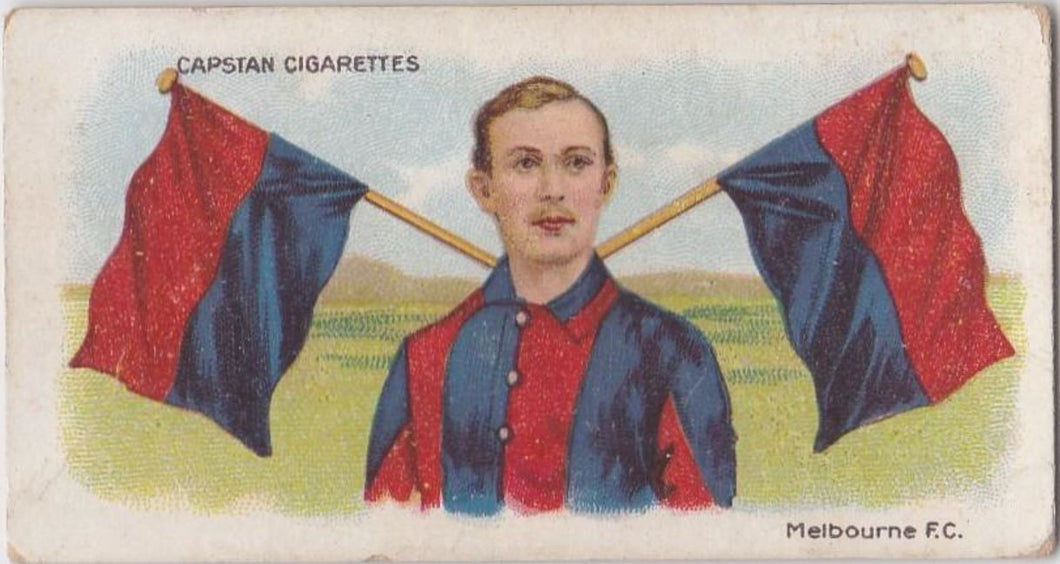 1913 Capstan Cigarettes, Football Colours and Flags, Melbourne FC