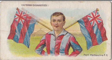 1913 Capstan Cigarettes, Football Colours and Flags, Port Melbourne, F.C.