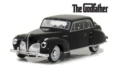 The Godfather (1972) - 1941 Lincoln Continental with Bullet holes, 1:43 Diecast Vehicle