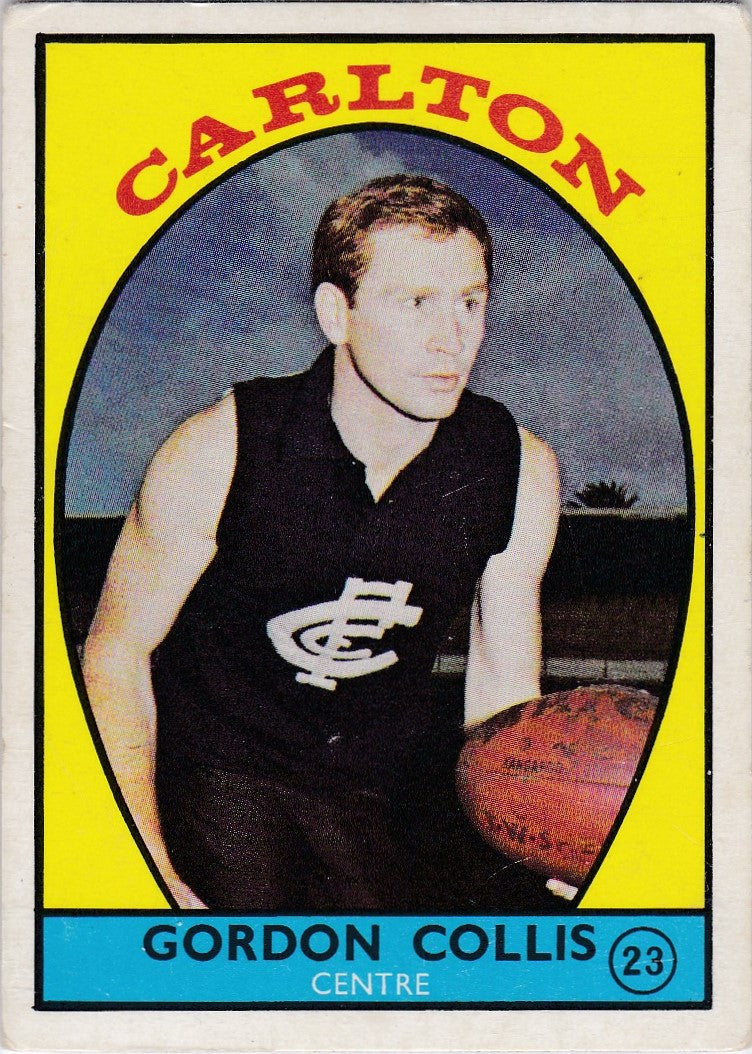 Gordon Collis, 1968a Scanlens VFL