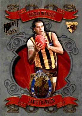 Lance Franklin, Coleman Medal, 2009 Select AFL Pinnacle