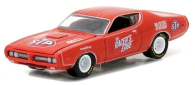 STP 1971 Dodge Charger, Running on Empty Series 1, 1:64 Diecast Vehicle