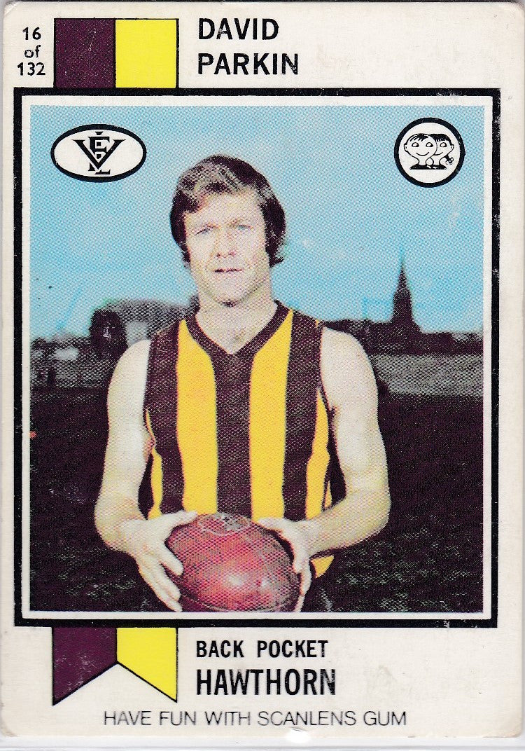 David Parkin, 1974 Scanlens VFL