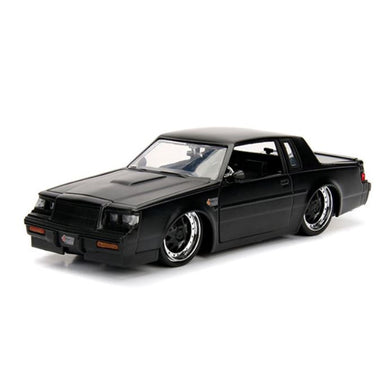 1987 Black Buick Grand National, Big Time Muscle, 1:24 Diecast Vehicle