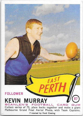 Kevin Murray, 1966 Scanlens VFL WAFL