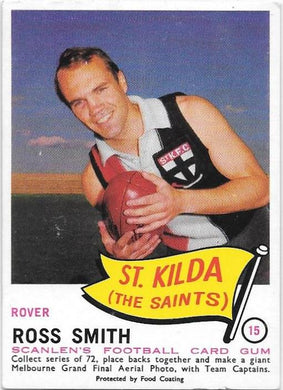 Ross Smith, 1966 Scanlens VFL