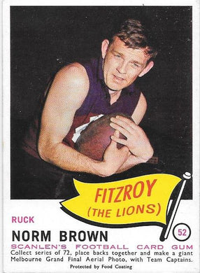Norm Brown, 1966 Scanlens VFL