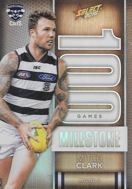 Mitch Clark, 100 Games Milestone, 2016 Select AFL Footy Stars