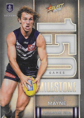 Chris Mayne, 150 Games Milestone, 2016 Select AFL Footy Stars
