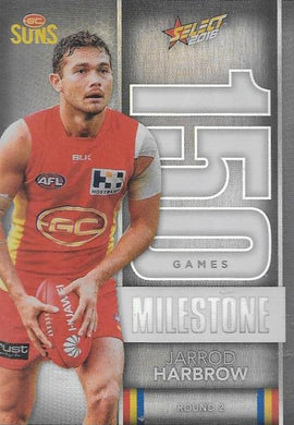Jarrod Harbrow, 150 Games Milestone, 2016 Select AFL Footy Stars