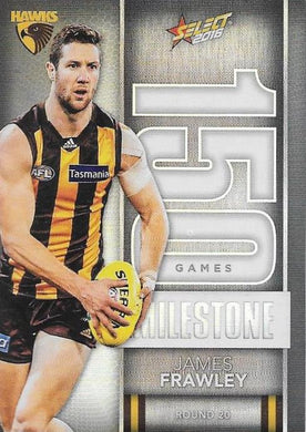 James Frawley, 150 Games Milestone, 2016 Select AFL Footy Stars