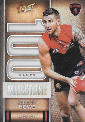 Jeremy Howe, 100 Games Milestone, 2016 Select AFL Footy Stars