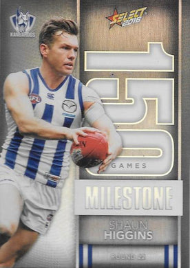 Shaun Higgins, 150 Games Milestone, 2016 Select AFL Footy Stars