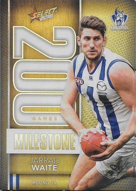 Jarrad Waite, 200 Games Milestone, 2016 Select AFL Footy Stars