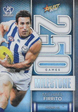 Michael Firrito, 250 Games Milestone, 2016 Select AFL Footy Stars