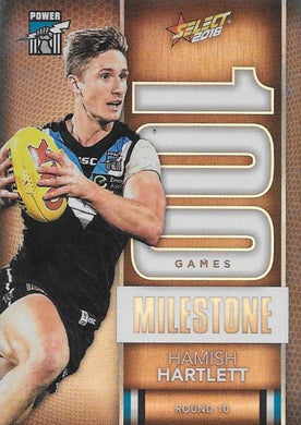 Hamish Hartlett, 100 Games Milestone, 2016 Select AFL Footy Stars