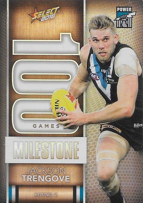 Jackson Trengove, 100 Games Milestone, 2016 Select AFL Footy Stars