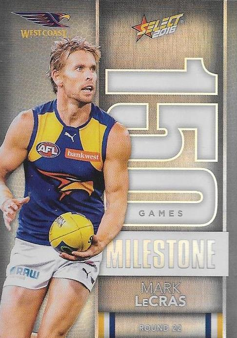 Mark LeCras, 150 Games Milestone, 2016 Select AFL Footy Stars