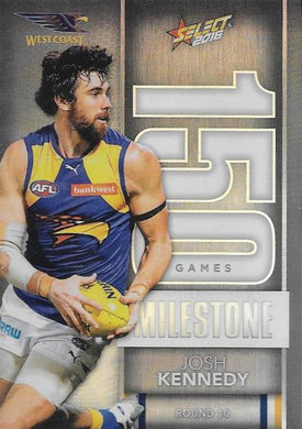 Josh Kennedy, 150 Games Milestone, 2016 Select AFL Footy Stars