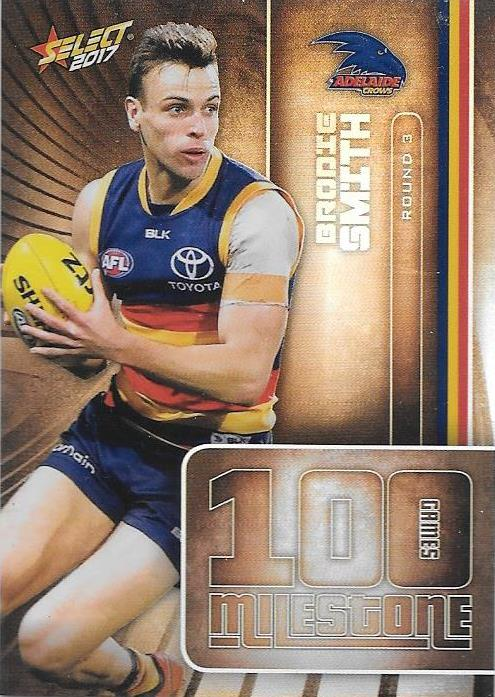 Brodie Smith, 100 Games Milestone, 2017 Select AFL Footy Stars