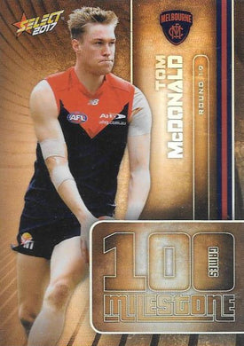 Tom McDonald, 100 Games Milestone, 2017 Select AFL Footy Stars
