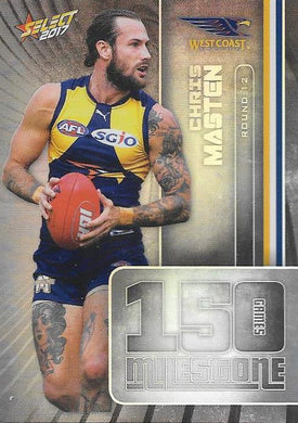 Chris Masten, 150 Games Milestone, 2017 Select AFL Footy Stars