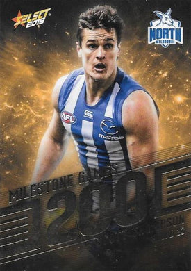 Scott Thompson, 200 Games Milestone, 2018 Select AFL Footy Stars