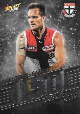 Nathan Brown, 150 Games Milestone, 2018 Select AFL Footy Stars