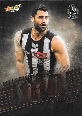 Alex Fasolo, 100 Games Milestone, 2018 Select AFL Footy Stars