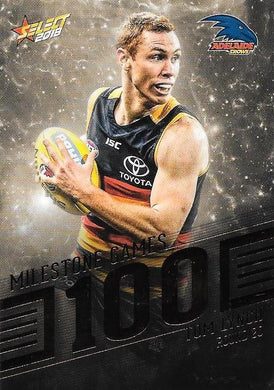 Tom Lynch, 100 Games Milestone, 2018 Select AFL Footy Stars