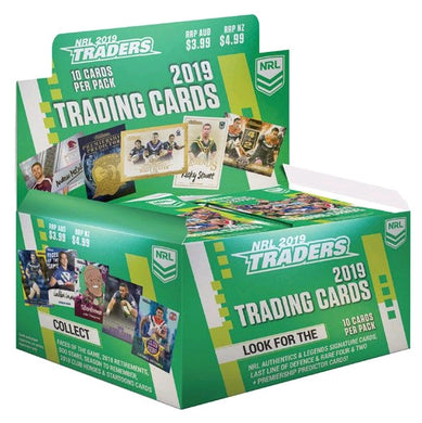 2019 TLA esp Traders NRL 36 pack box