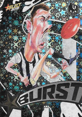 Mason Cox, Team Logo Starburst Caricatures, 2019 Select AFL Footy Stars