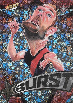 Tom Bellchambers, Team Logo Starburst Caricatures, 2019 Select AFL Footy Stars