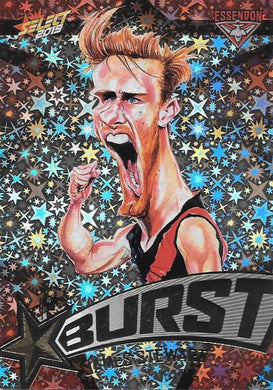 James Stewart, Team Logo Starburst Caricatures, 2019 Select AFL Footy Stars