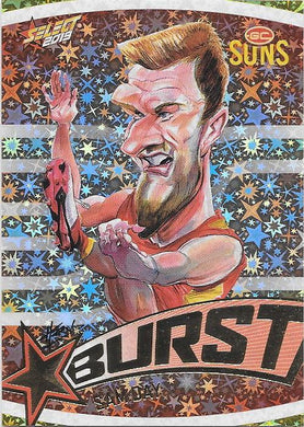 Sam Day, Team Logo Starburst Caricatures, 2019 Select AFL Footy Stars