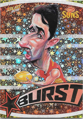 Brayden Fiorini, Team Logo Starburst Caricatures, 2019 Select AFL Footy Stars