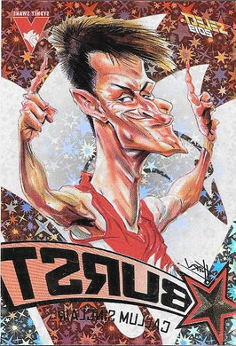 Callum Sinclair, Team Logo Starburst Caricatures, 2019 Select AFL Footy Stars
