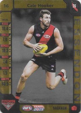 Cale Hooker, Gold, 2015 Teamcoach AFL