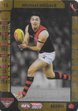 Michael Hibberd, Gold, 2015 Teamcoach AFL