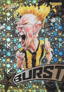 James Sicily, Team Logo Starburst Caricatures, 2019 Select AFL Footy Stars