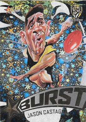 Jason Castagna, Team Logo Starburst Caricatures, 2019 Select AFL Footy Stars