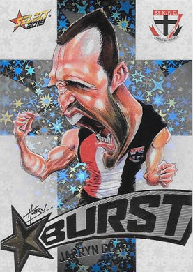 Jarryn Geary, Team Logo Starburst Caricatures, 2019 Select AFL Footy Stars
