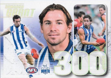 Shannon Grant, 300 Game Case Card, 2019 Select AFL Footy Stars